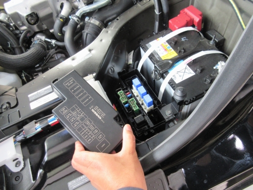 How to open the engine room (10)