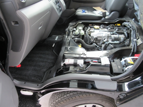 How to open the engine room (8)