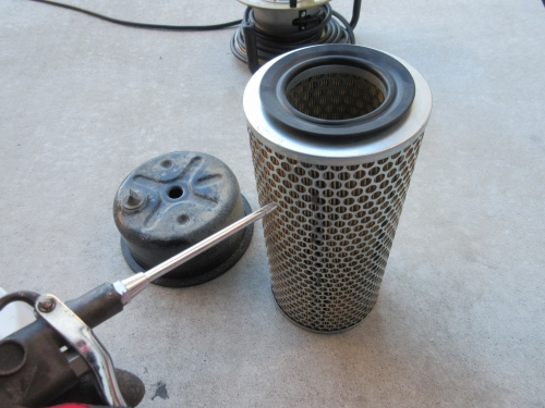 Air cleaner cleaning (6)